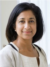 Anita Hazari at McIndoe Surgical Centre - Plastic Surgery Clinic in the UK