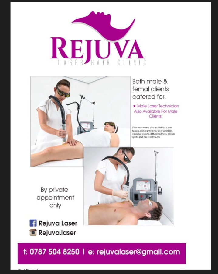 Rejuva Laser Hair Clinic in Yardley, Birmingham • Read 2 Reviews