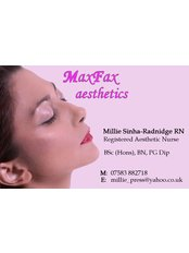 Maxfax Aesthetics - Medical Aesthetics Clinic in the UK