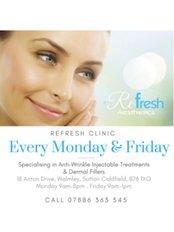 Refresh Aesthetics - Medical Aesthetics Clinic in the UK