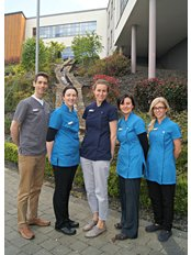 Lysaght Dental - Meet the team (left to right) Gilbert, Marie, Ursula, Jacinta & Lyanne