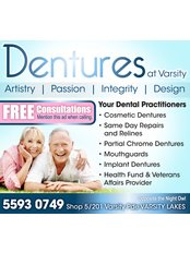 Dentures at Varsity - Dental Clinic in Australia