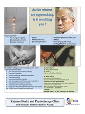 Kalptaru physiotherapy clinic - Elderly care and rehabilitation