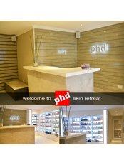 PHD Skin Retreat - Skin Retreat Reception and product emporium