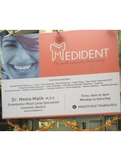 Medident-The Multispeciality Dental Clinic - Signage
