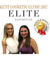 Elite Aesthetics Kent - Winner of the Kent Aesthetics Clinic of the Year 2017 Health and Beauty Awards