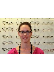 R.A. Optometrists - One of our optoms-Super Sally Stevens