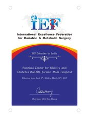 South Delhi Clinic - IEF Certificate (April 2014- March 2017)