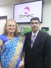 Olmec The premier Transgender Surgery Institute - Dr Kaushik with one of his patient