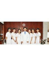 Plastic Surgery Department of Hong Duc Hospital - Dr. Nguyen Thanh Tuan and his nurses