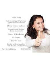 Bury Dental Centre - Dental Clinic in the UK