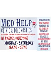 Med Help Clinic & Diagnostics - General Practice in Philippines
