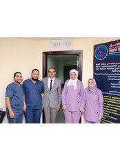 Erada center - Erada members with Professor Fouad Abdallah, Consultant of Neurology and Stroke Medicine