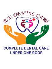 R.K.DENTAL CARE - CLINIC LOGO