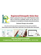 The How Osteopathic Clinic - Osteopathy with Exercises