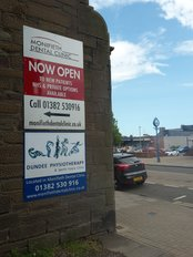 Dundee Physiotherapy & Sports Injury Clinic - Dundee Physiotherapy sign