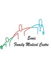 Ennis Family Medical Centre - maires final logo