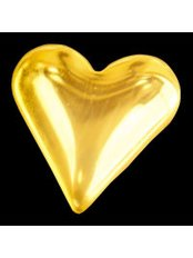 DentalJewels - Gold Heart