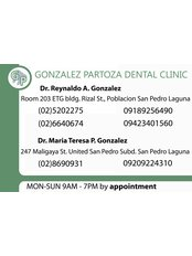Gonzalez Partoza Dental Clinic - Dental Clinic in Philippines