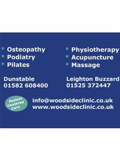 Woodside Clinic - Leighton Buzzard - Physiotherapy Clinic in the UK