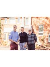 Arden House Dental - Our dentists Michael, Sarah and Ian