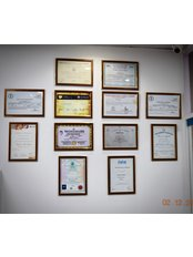Dental Makeover - Certificates