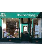 Healing Thyme - Healing Thyme High Street Whitchurch Shropshire