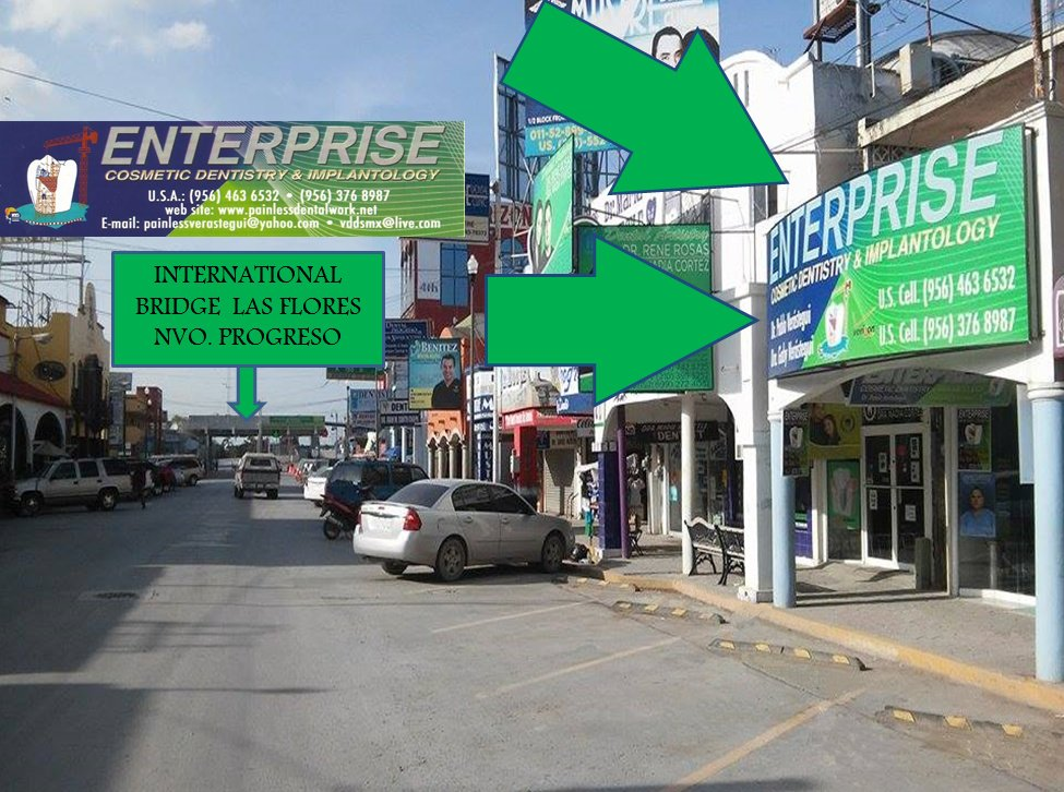 Enterprise Painless Dental in Nuevo Progreso, Mexico • Read 6 Reviews