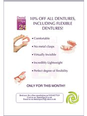 Dental Spa 25 - Online Only: 10% Off All Dentures including Flexible Dentures at Dental Spa 25