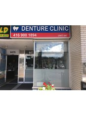 Denture clinic - Clinic front