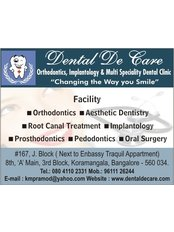 Dental De Care - Affordable Dental Care under One Roof with World Class Facilities